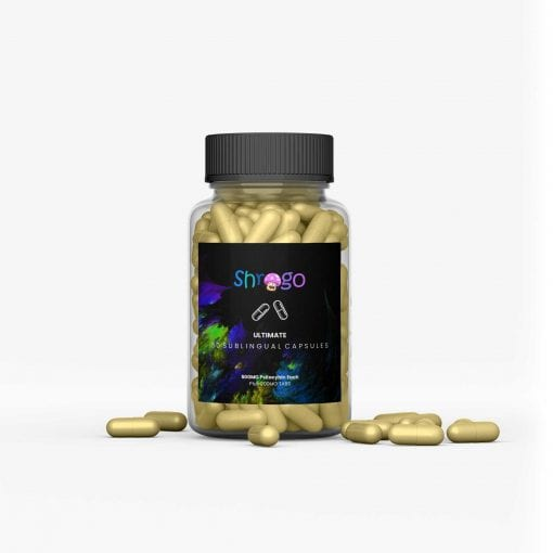 ultimate microdosing magic mushroom capsules