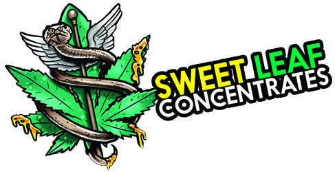 Sweet Leaf Concentrates Logo with Stafft